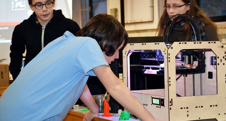 Atelier Impression et Scan 3D