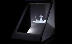 Prototype holographique sur tablette – Projet Arena